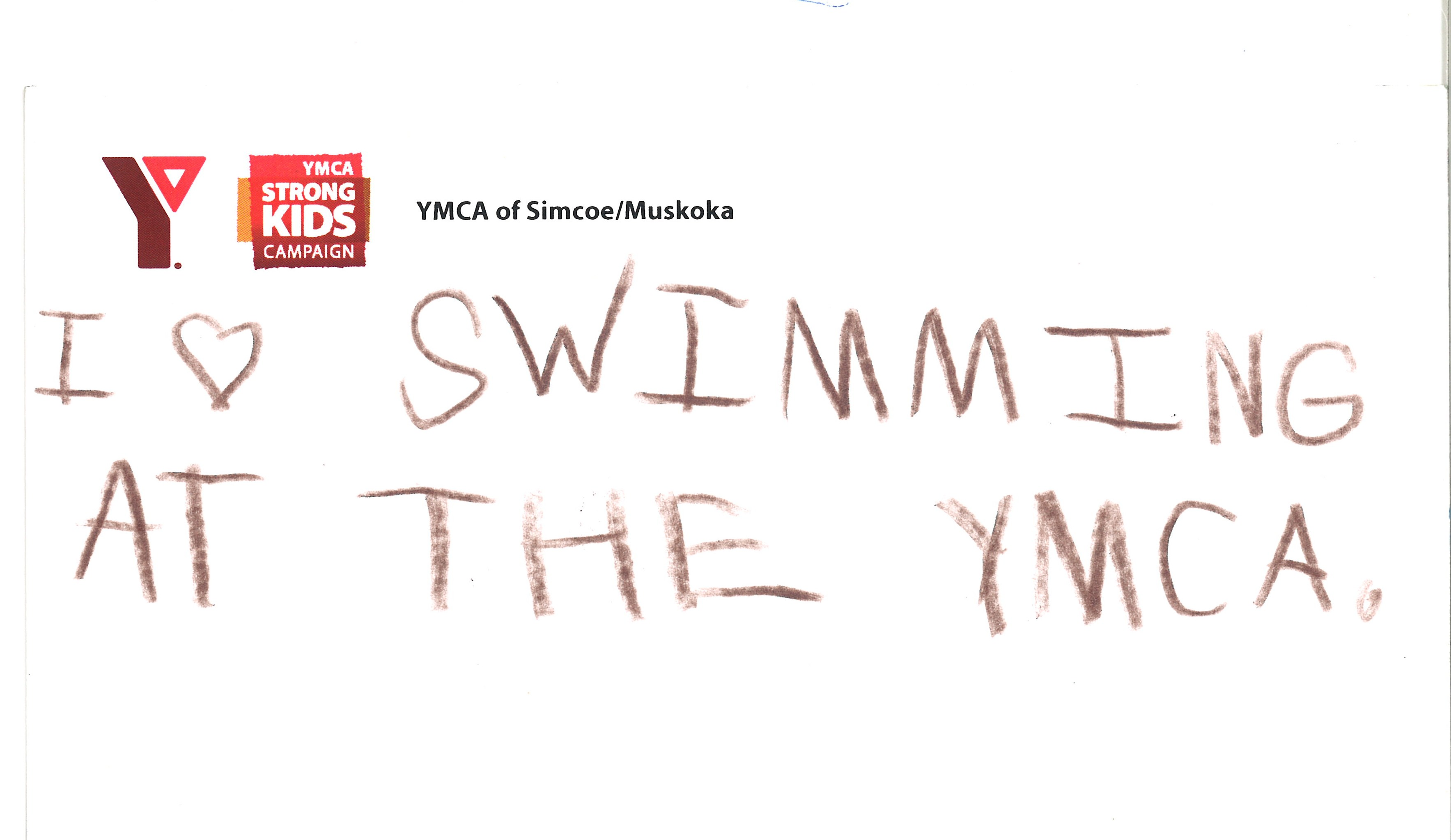 MyY - I Love Swimming at the YMCA