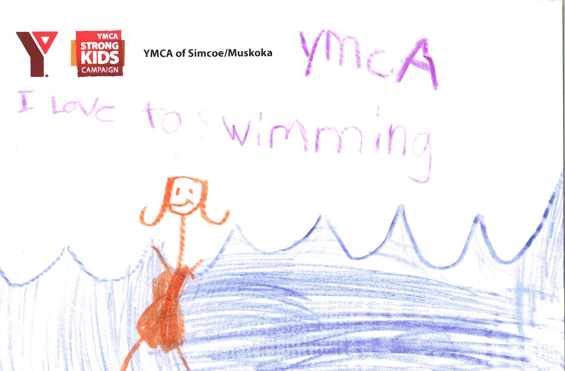 Swimming at the YMCA of Simcoe/Muskoka