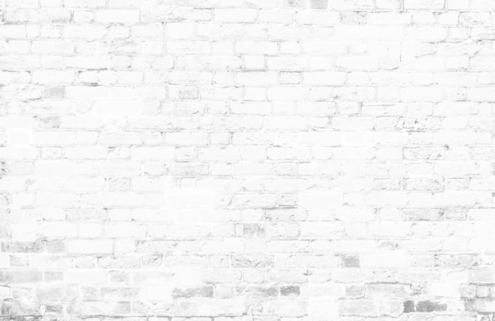 White Brick Wall - Background